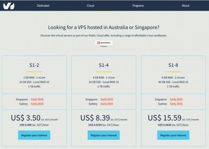 羊毛党之家 OVH即将重新发售新加坡和悉尼的VPS  https://yangmaodang.org