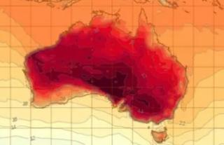 澳大利亚仿佛在燃烧