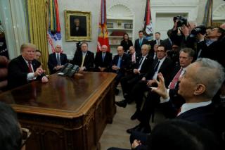 特朗普期待会晤习近平 中方称贸易谈判取得重要阶段性进展