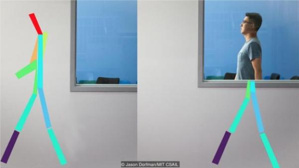 能穿透墙壁的无线信号可以监测病人的姿势、呼吸甚至睡眠,以发现早期病症。
