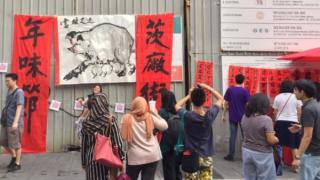 """春节:穆斯林世界华人如何庆祝敏感""""猪""""年"""