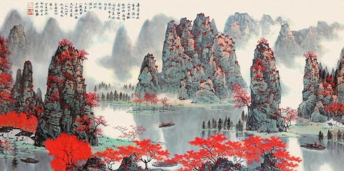 白雪石国画作品欣赏(一