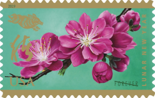 美国发行猪年生肖邮票