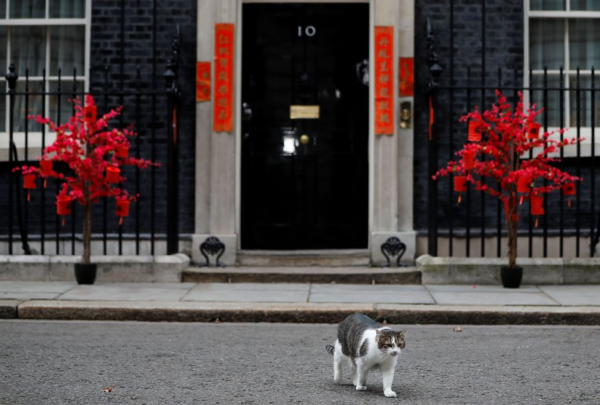英国首相府