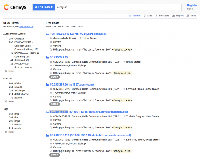 羊毛党之家 使用Censys 查询CDN/如Cloudflare后面的真实服务器IP地址 与对应防范 https://yangmaodang.org