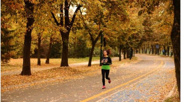 在工休时间慢跑或绕着街区散步是在白天增加锻炼的一种方式。