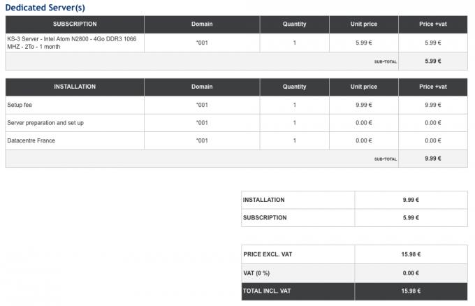 羊毛党之家 跑PT专用-Kimsufi 独立服务器 N2800/4G/2TB 5.99 €/月 i3-2130/8G/2T 8.99€/月 https://yangmaodang.org