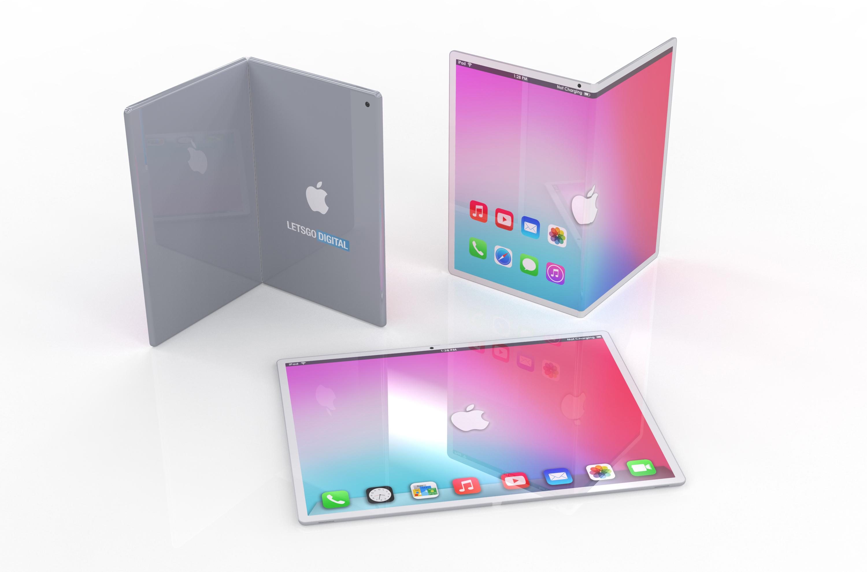 如果iPad可以折叠的话将会是什么效果?