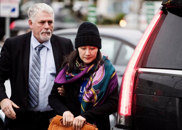华为首席财务官孟晚舟在温哥华处于保释期内。她可能被引渡至美国,在那里面临诈骗指控。