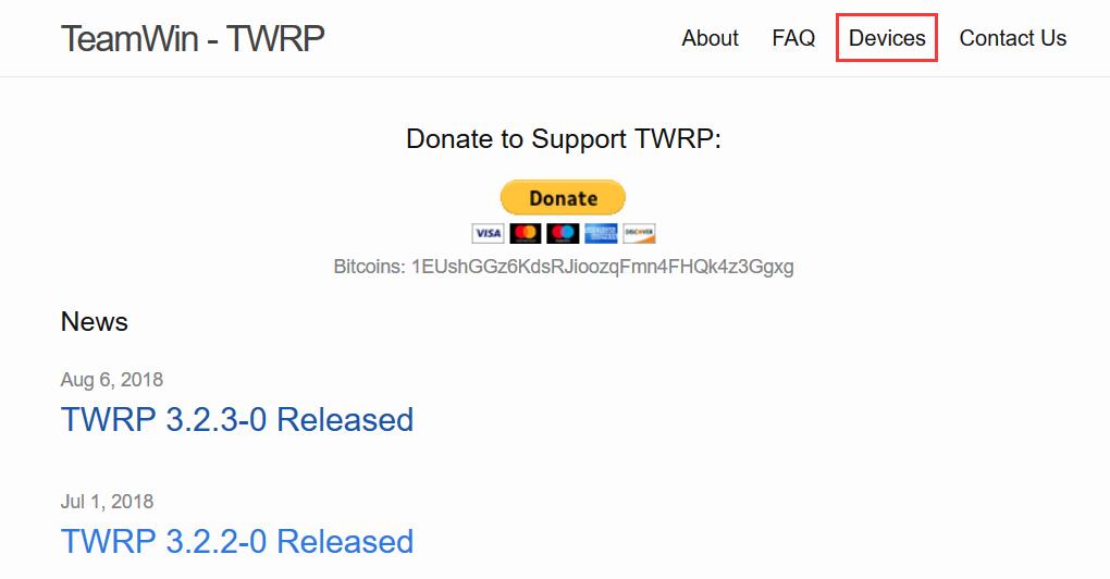 TWRP官网