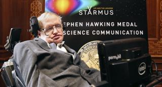 霍金是第几等的科学家?