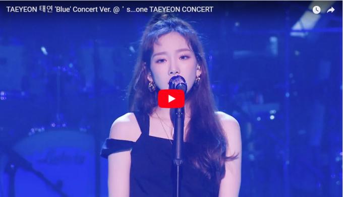 泰妍 TAEYEON Blue 演唱会官方 1080P超清版