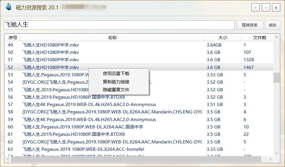 PC绿色磁力资源搜索v20.1