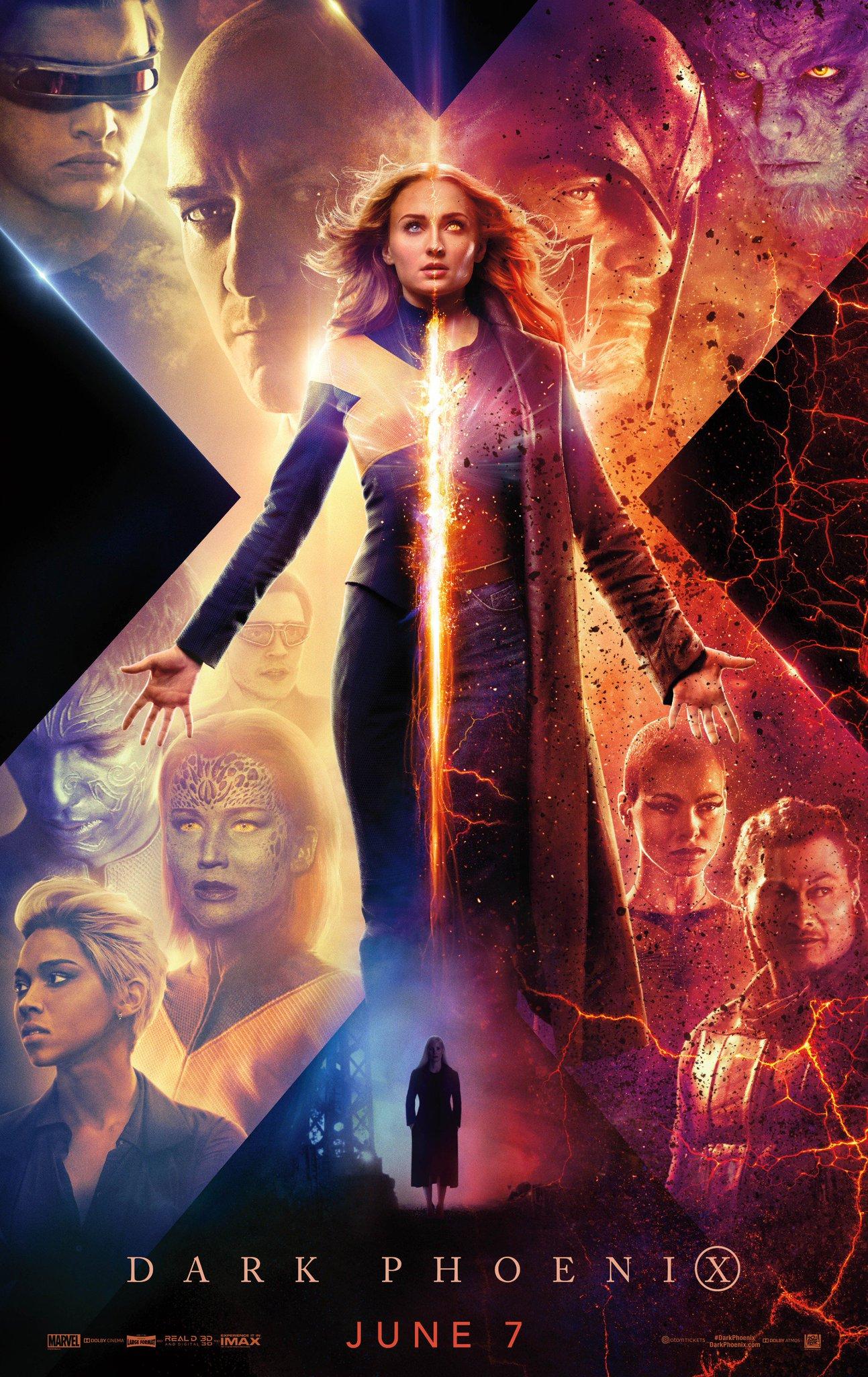 《黑凤凰》将成为《X战警》系列的大结局