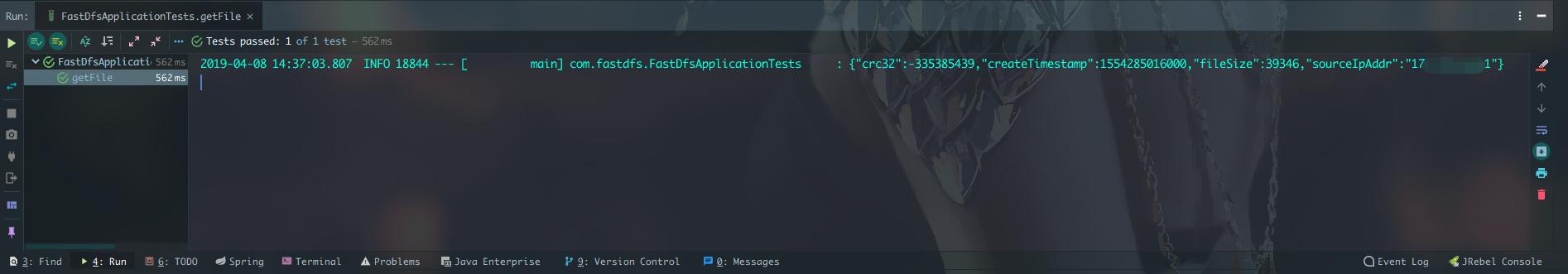 FastDFS的Java客户端