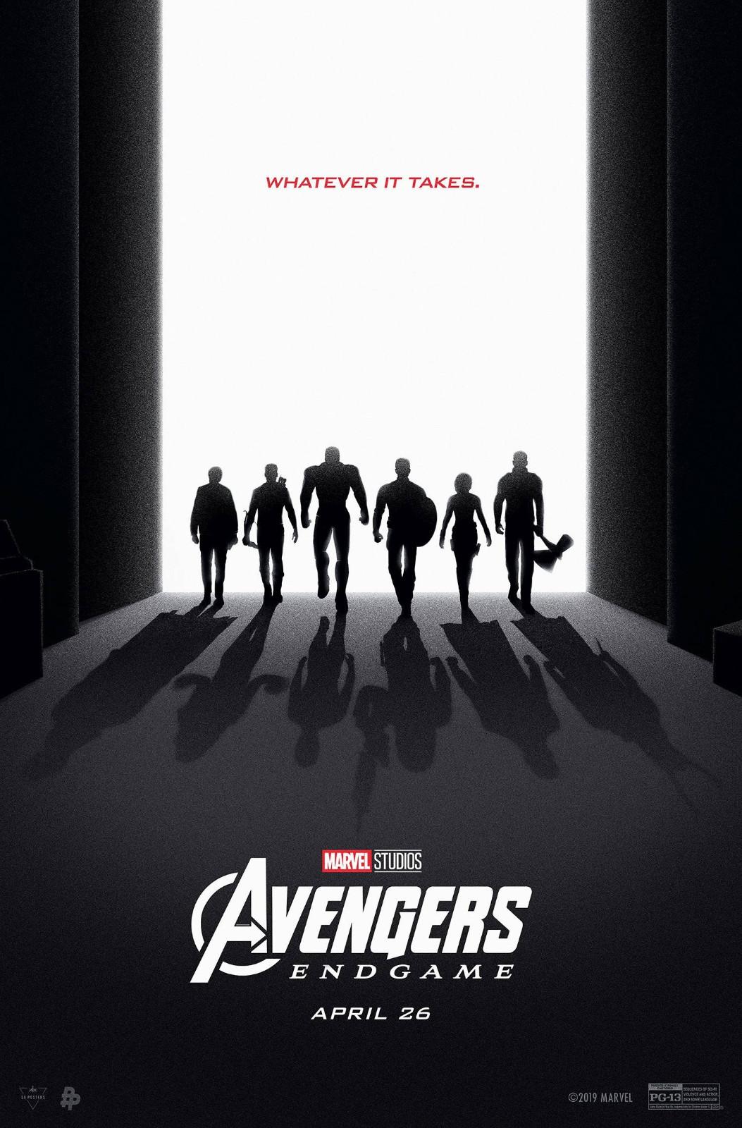 《复仇者联盟4》发布最新版艺术海报:初代6英雄倒影暗藏玄机