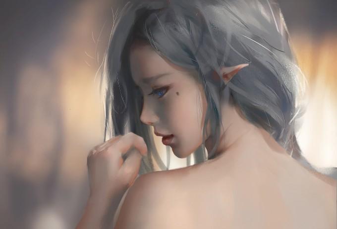 写着代码的插画师—王凌  WLOP 