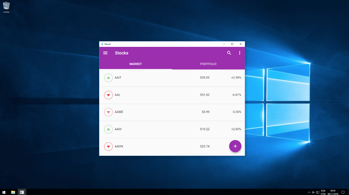 Windows 10 下运行截图