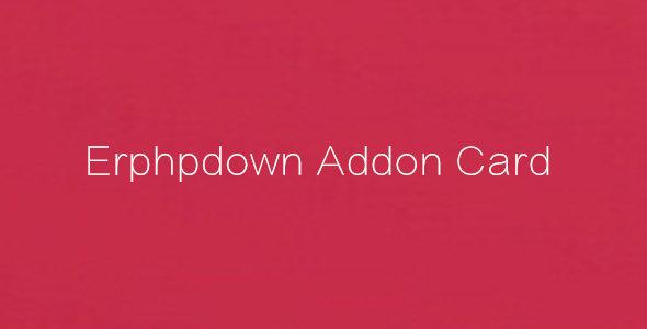 erphpdown addon card 充值卡