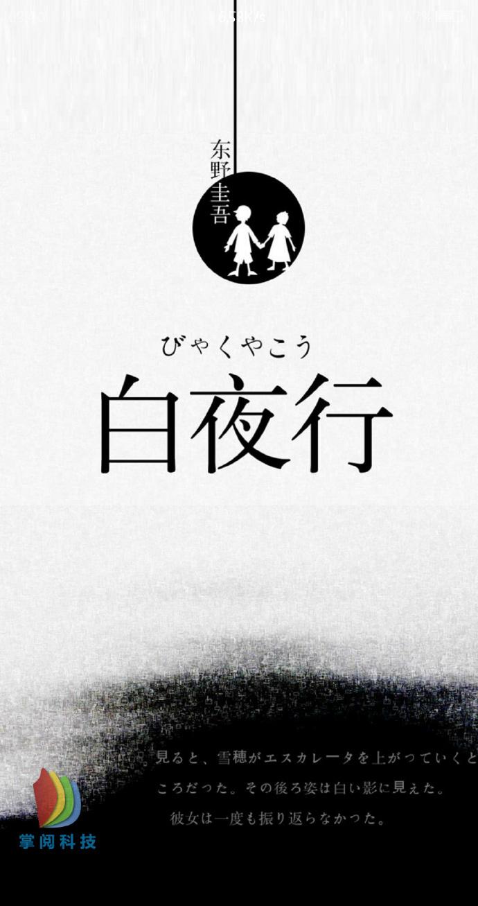 《白夜行[精品]》东野圭吾