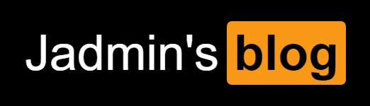Jadmin的博客