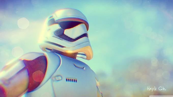 《星球大战》帝国冲锋队中的帝国小兵