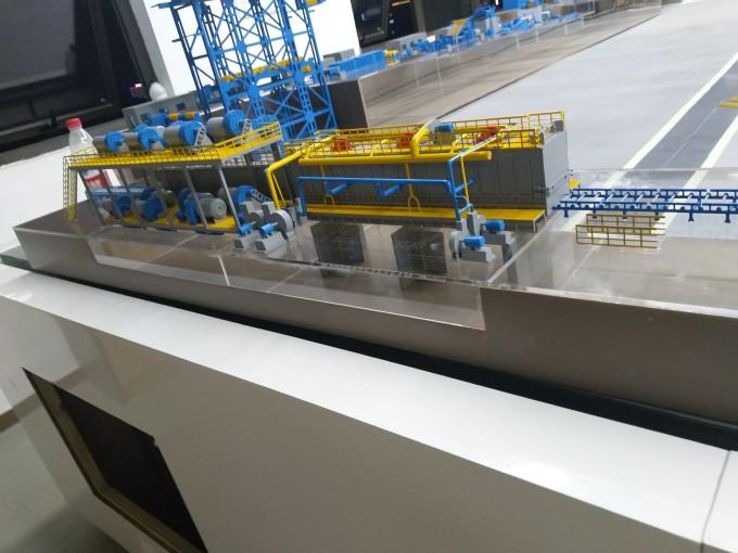 【艾格斯】工业模型现场制作继续…南宁工业模型制作