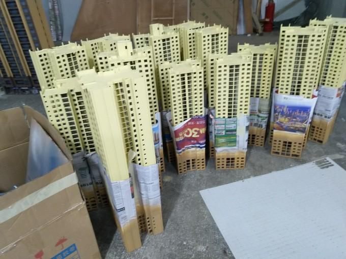 【艺雅】楼今天喷漆分色!工业模型也开始搭了…