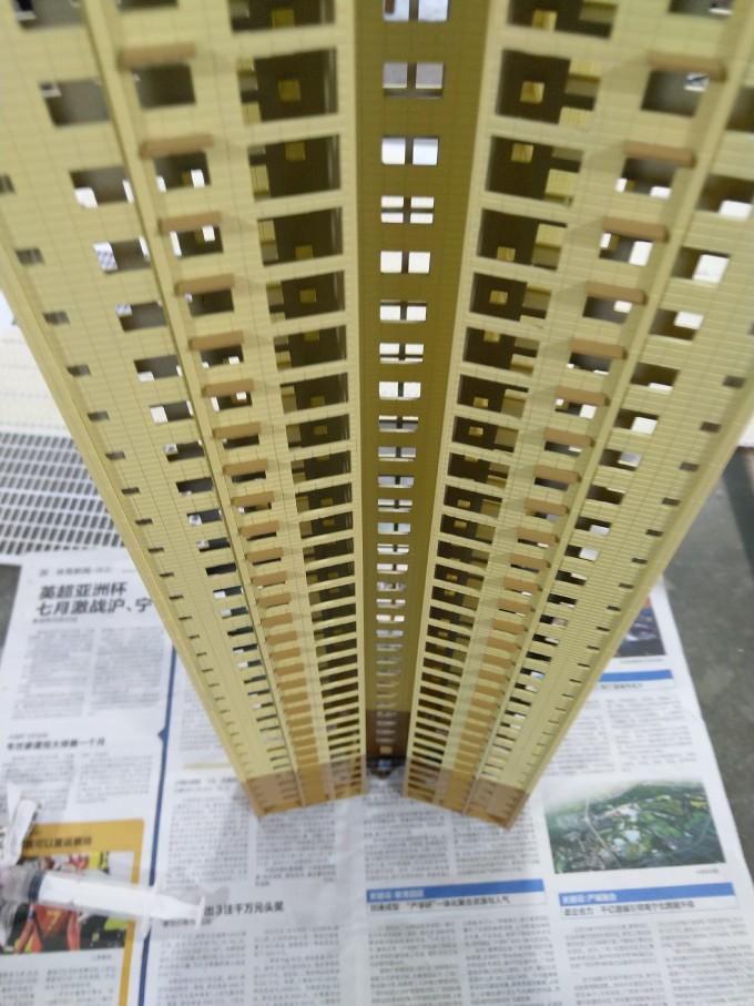【艺雅】今天装空调板…广西南宁建筑模型制作!