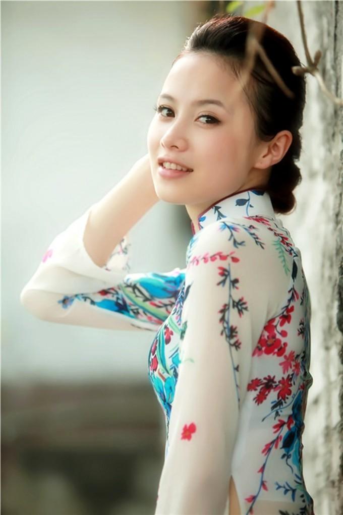 越南漂亮妹子系列1,越南,妹子,奥黛,绝妙好文
