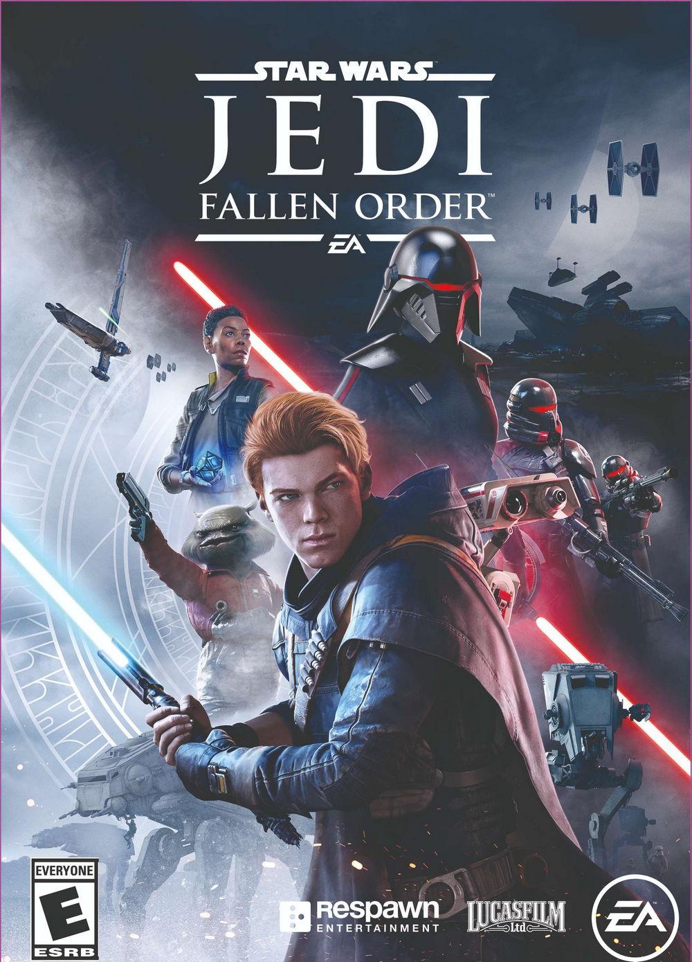《星球大战绝地:陨落的武士团》标准版/豪华版游戏封面公布