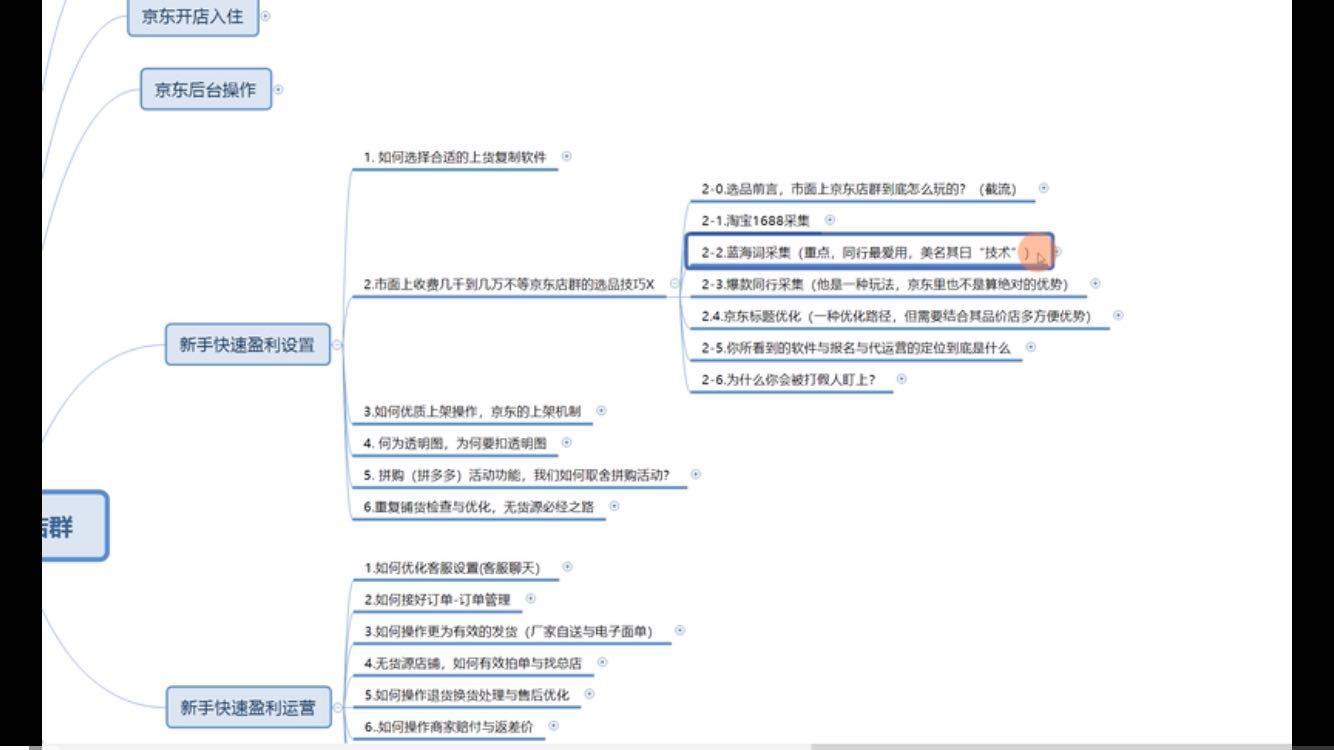 京东无货源店群如何通过蓝海词采集和选择类目?