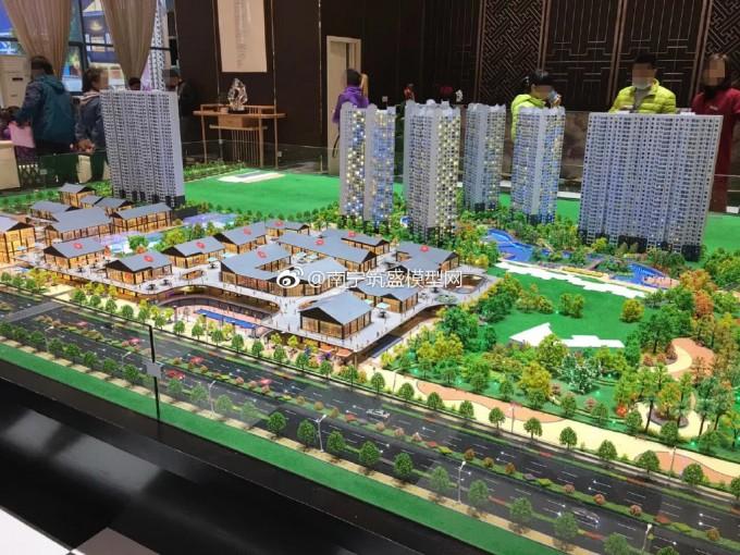 【艺雅模型】安装完成…南宁模型公司建筑模型制作