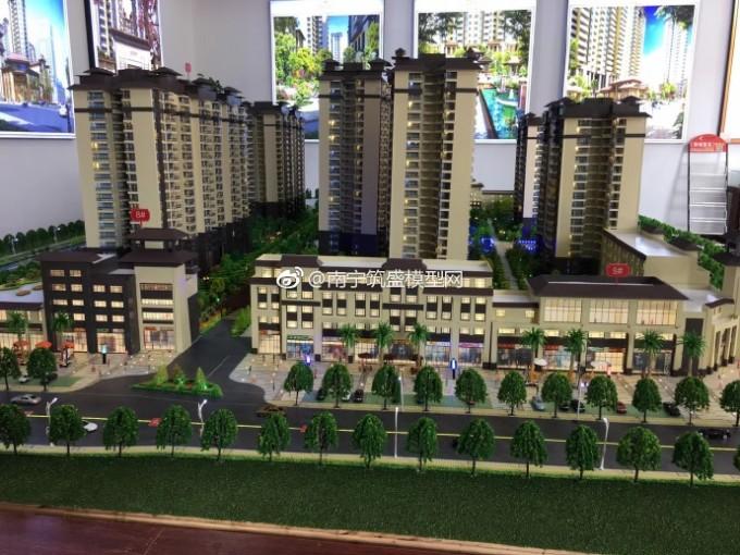 【艺雅模型】广西北海合浦金源翰府建筑模型
