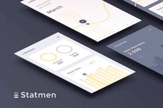 Statmen Statistic iOS UI Kit