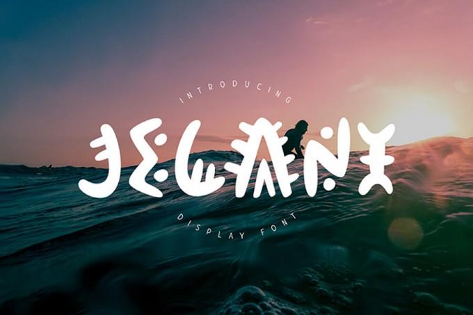 个性激烈的梦想字体Jelani Display Font