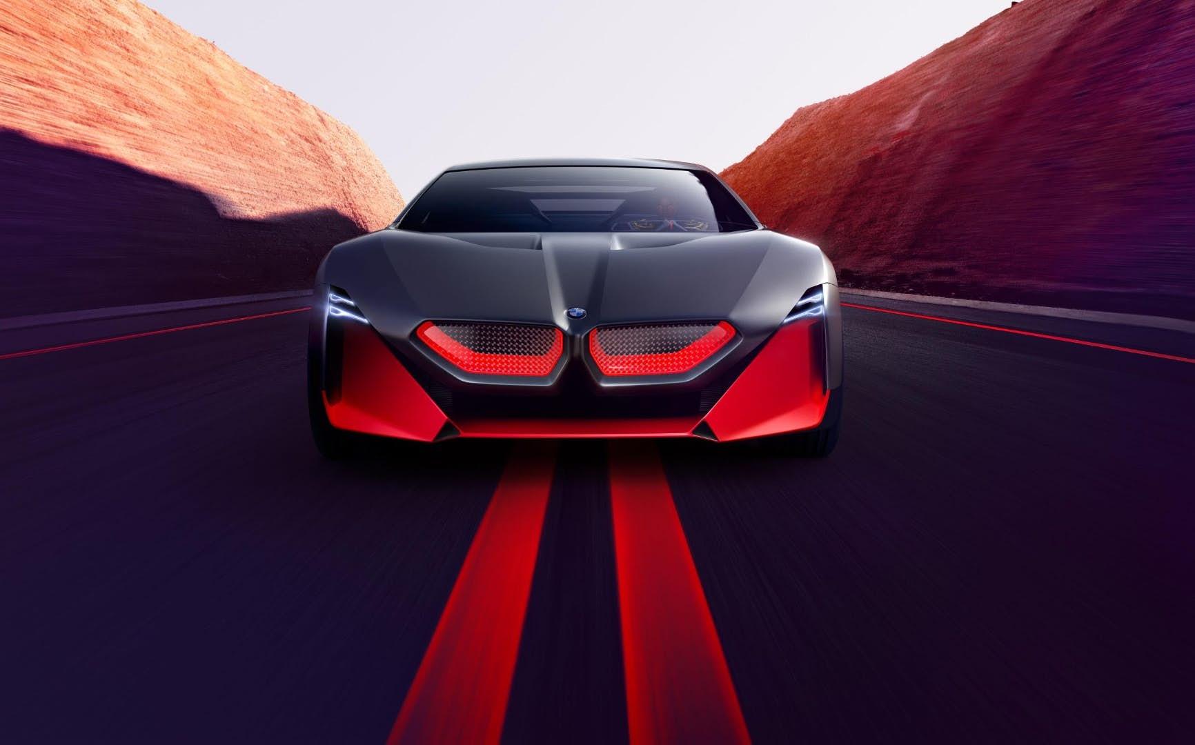 宝马Vision M NEXT概念车官图发布:极具科幻质感的未来汽车新理念