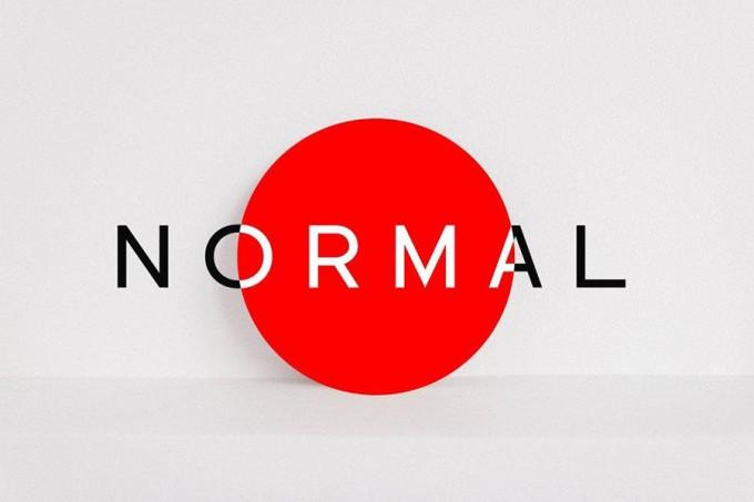 Normal品牌风字体