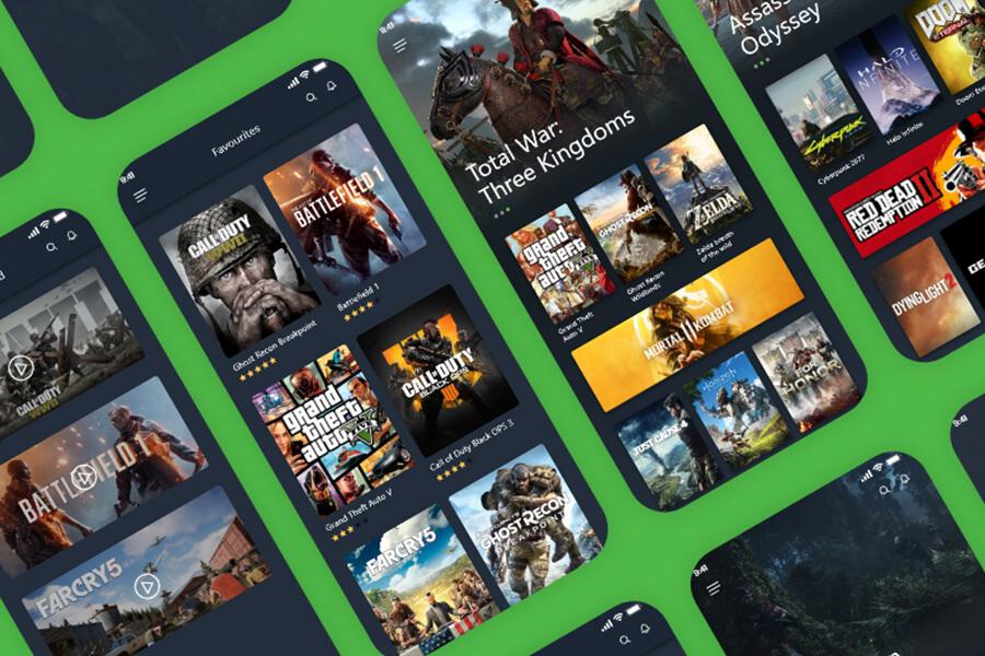 游戏平台Gamify Mobile UI kit