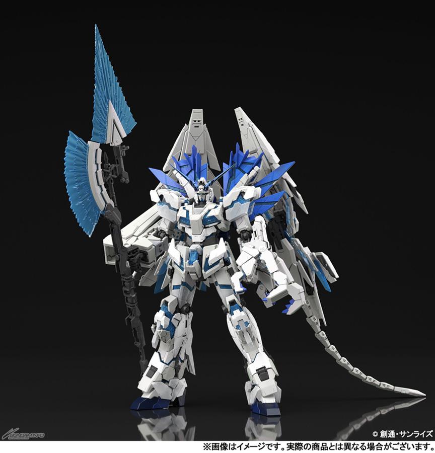 RG RX-0 独角兽高达完美形态(1:144 金属色+珠光成形)