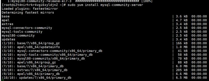 Mysql社区版安装