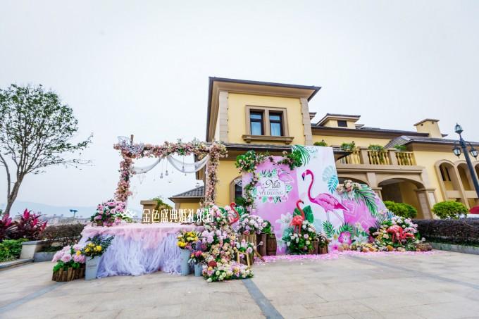 南宁青山高尔夫别墅婚礼:永恒主角