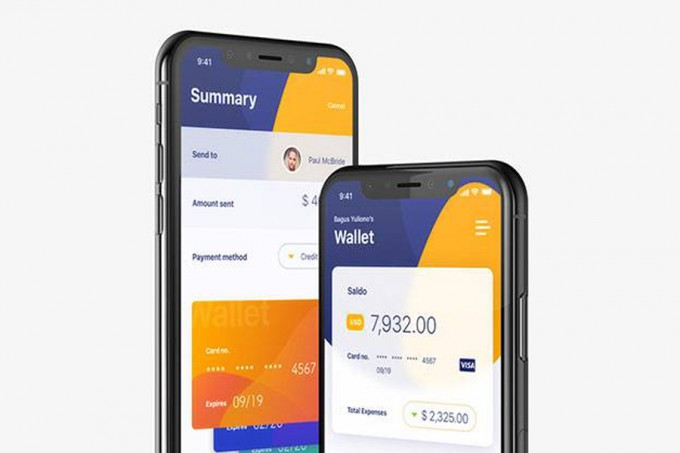 Finansi 金融app ui