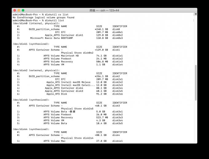 技巧- diskutil 常用命令Disk Utility Tool | 极限苹果-Mac论坛-提供Mac
