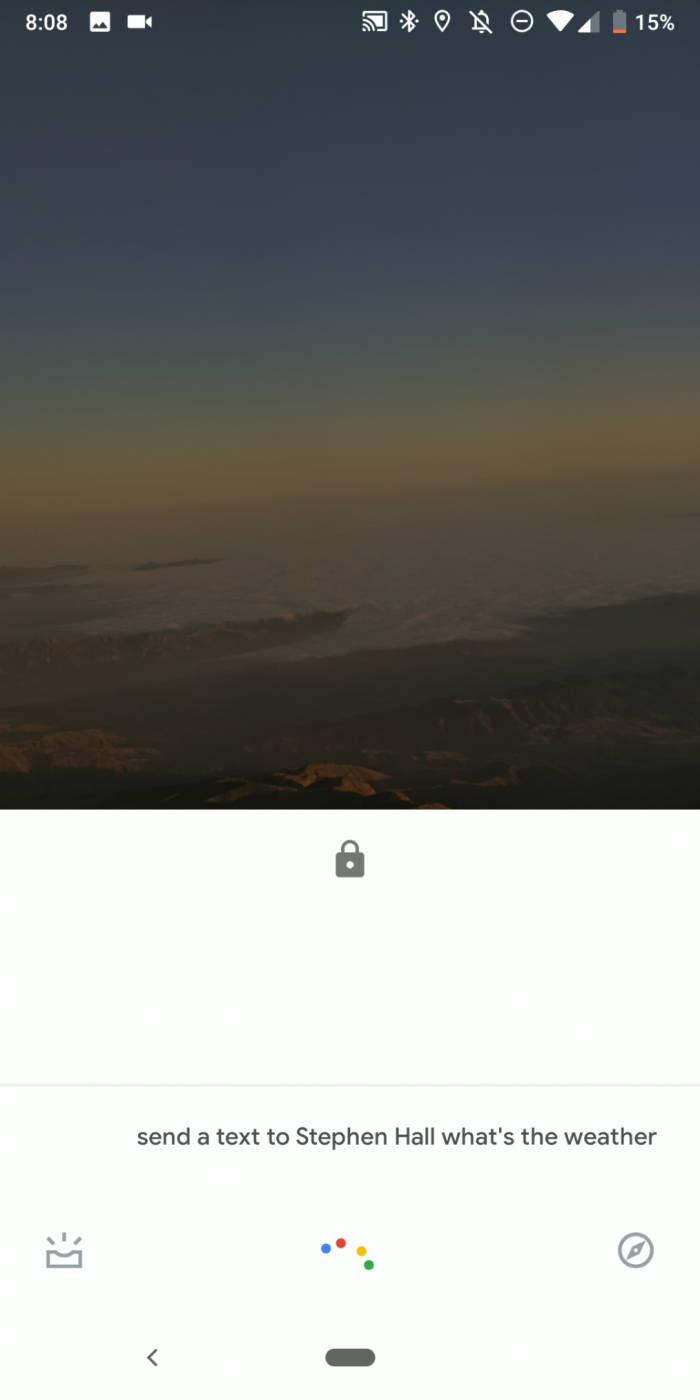 Google智能助理测试版:可在Android锁屏上发送文本-玩懂手机网 - 玩懂手机第一手的手机资讯网(www.wdshouji.com)