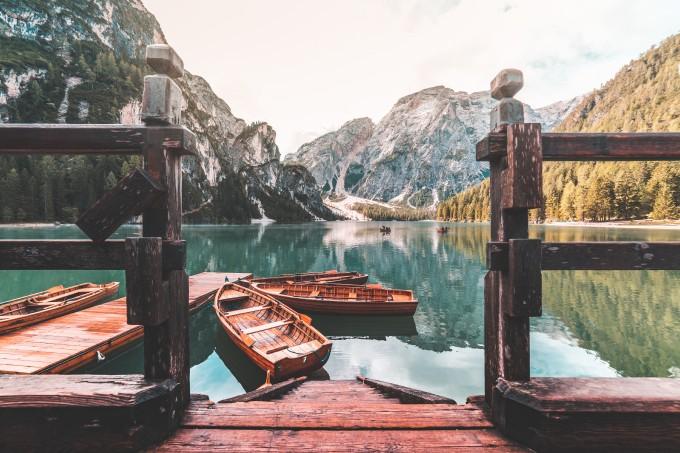 意大利Lago di Braies湖