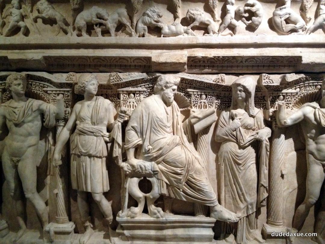 博物馆石棺