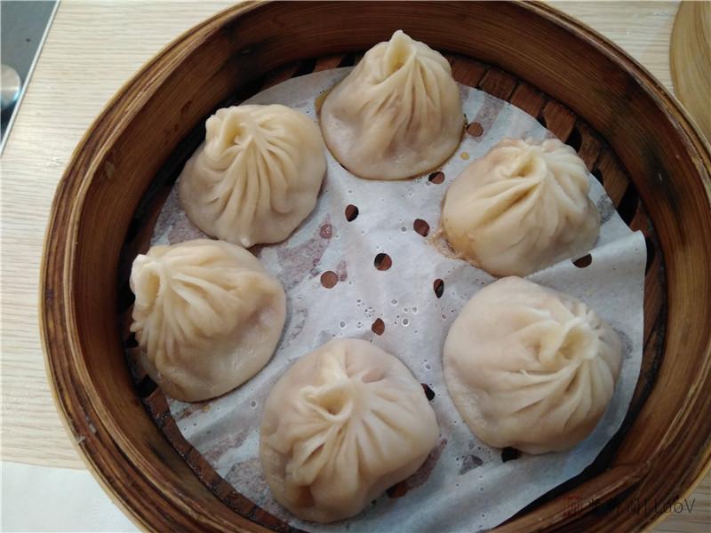 南京第一餐,虾汤包