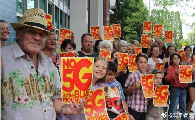 """澳大利亚多地出现""""反5G""""示威-玩懂手机网 - 玩懂手机第一手的手机资讯网(www.wdshouji.com)"""