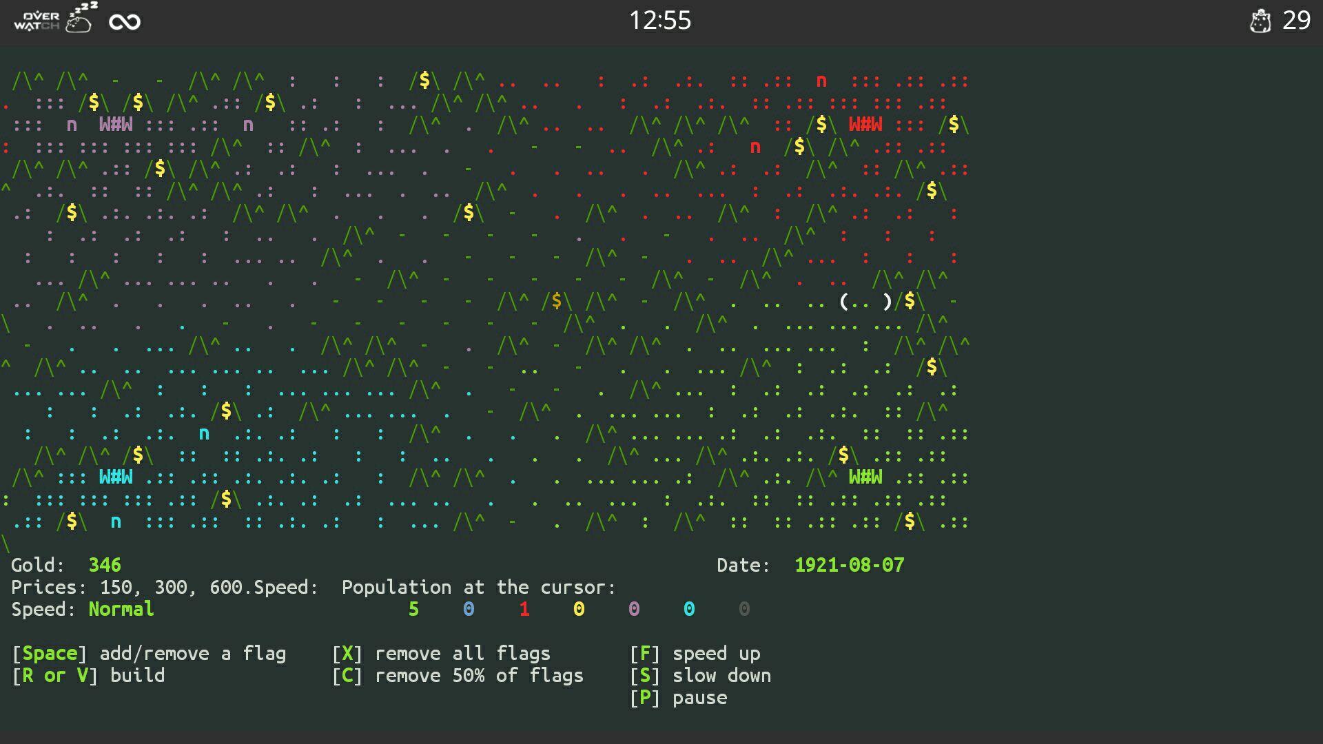 curse of war游戏界面